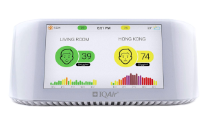 IQAir Smart Indoor & Outdoor Air Quality Monitor