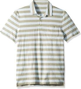 J.Crew Mercantile Men's Short-Sleeve Striped Polo Shirt