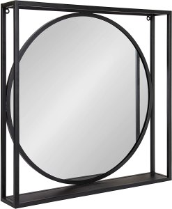 kate and laurel mirror shelf, best mirror shelf, mirror shelves