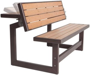 Lifetime convertible bench, outdoor bench, best outdoor bench