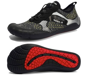 maniamaxx men's water shoes, toe running shoes