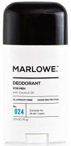 MARLOWE. No. 024 Natural Deodorant for Men