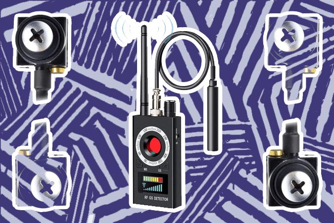 how to find hidden video cameras