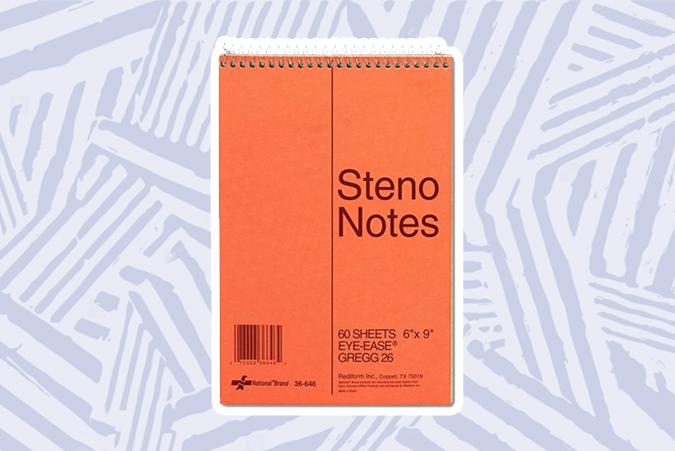 best steno book