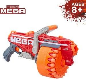 best nerf guns - Megalodon Nerf N-Strike Mega Toy Blaster (for ages 8+)