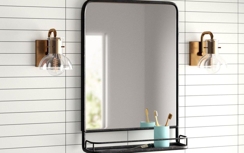 mirror shelf, best mirror shelf