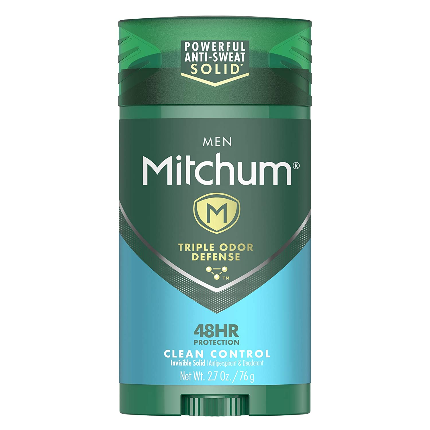 Mitchum antiperspirant deodorant stick for men, clean control
