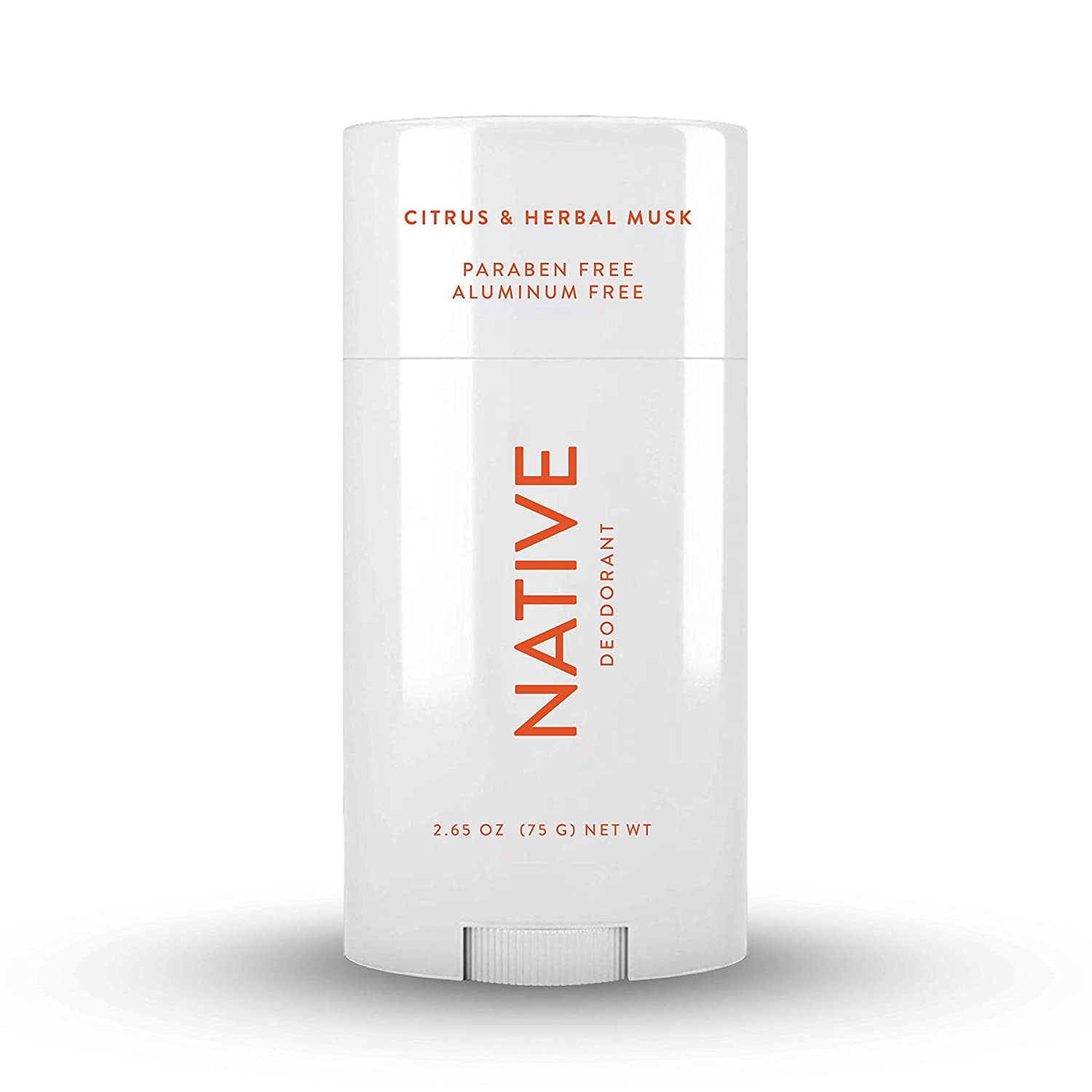 Native deodorant natural deodorant for women and men, herbal musk and citrus
