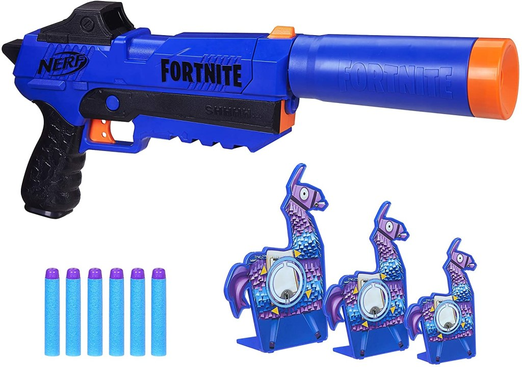 best nerf guns llama fortnite