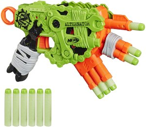 best nerf guns zombie alternator