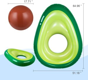 best pool float obuby avocado