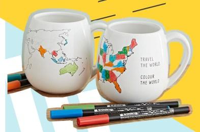 Color Map Mugs