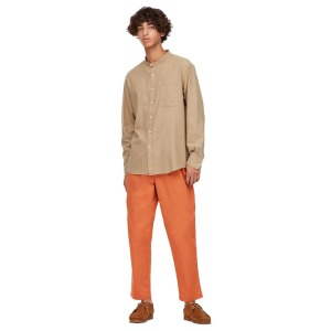 UNIQLO Cotton Relaxed Fit Ankle-Length Pants