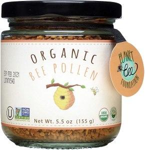 Greenbow organic bee pollen, bee pollen supplements