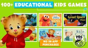 best apps for kids - PBS Kids