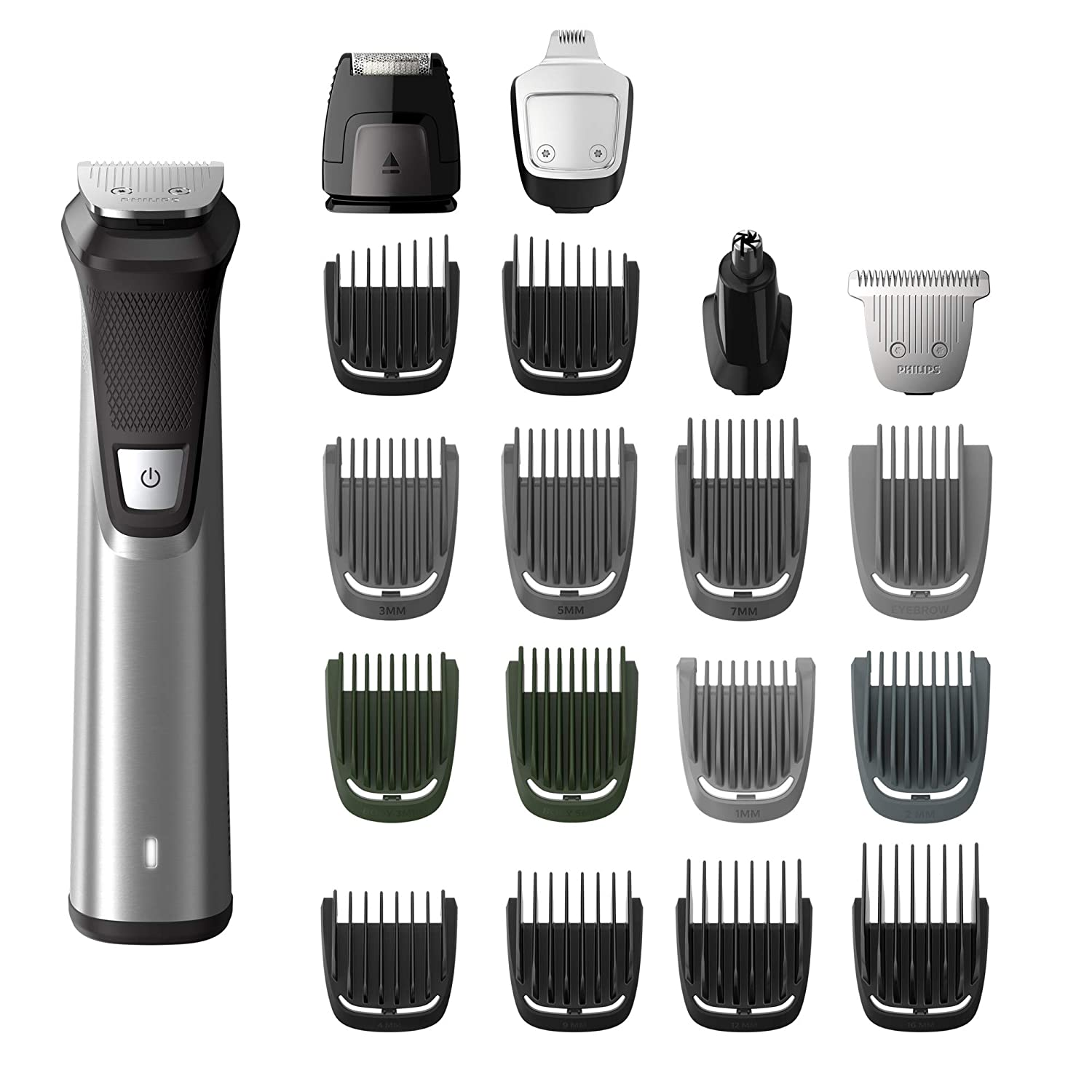 philips norelco 775049 multigroom series 7000 trimmer, men's grooming kit