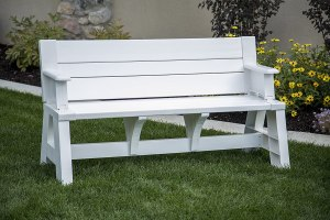 Premiere Products outdoor bench, best outdoor bench