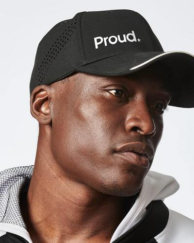 best hats for men - Proud Charged black fitted baseball cap