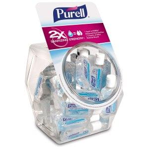 Purell display bowl, hand sanitizer