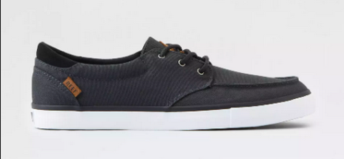 Reef black boat shoes