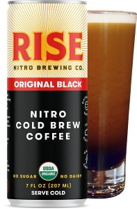 what is nitro cold brew? rise brewing