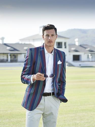 Samuel Windsor striped blazer
