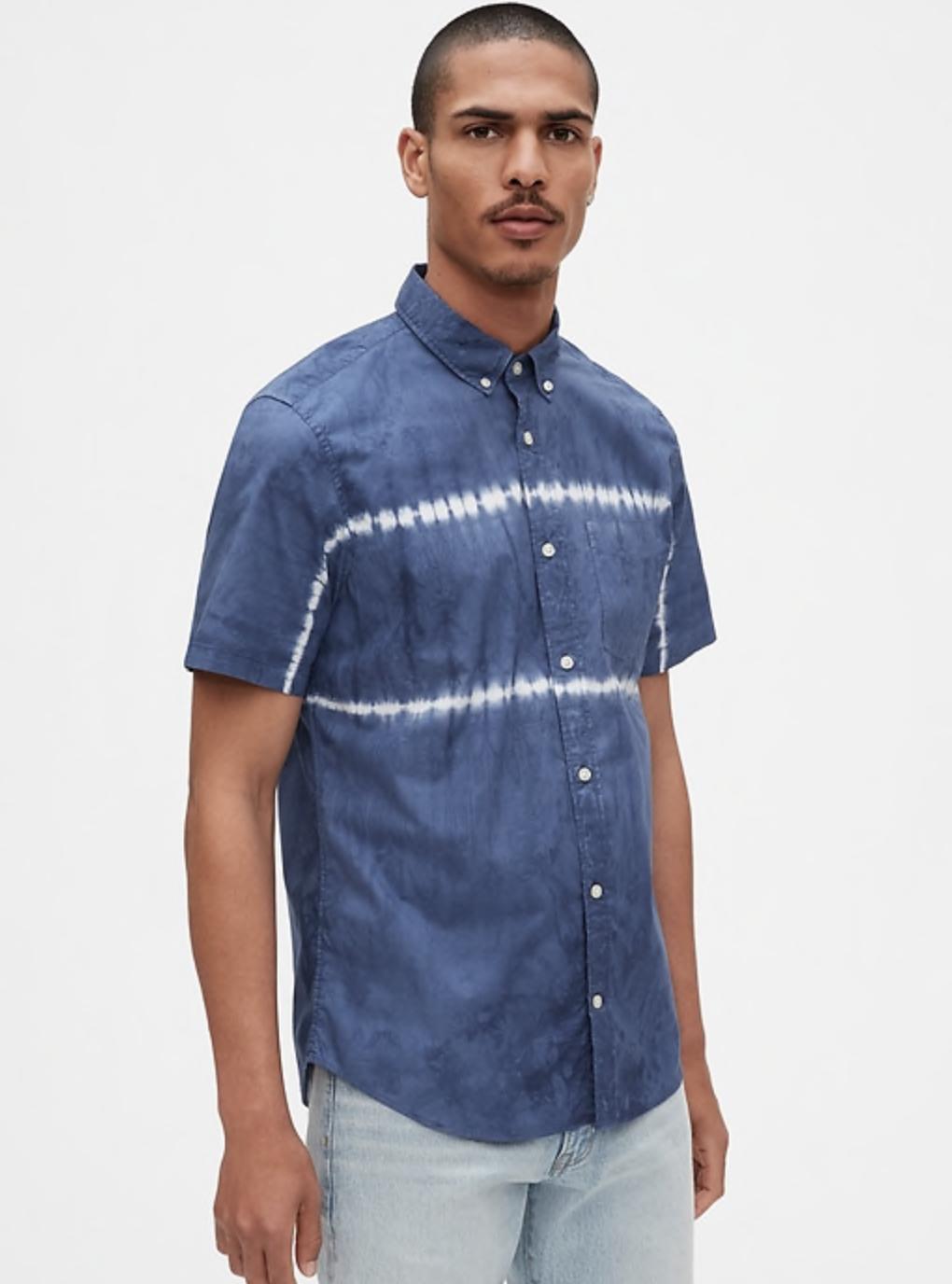 Tall button up shirt