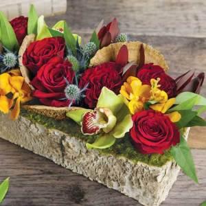 sierra birch trough, flower delivery services