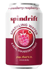 sparkling water brands spindrift