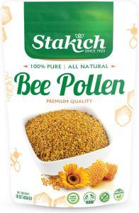 Stakich Bee Pollen 1 Pound bag, best bee pollen supplements