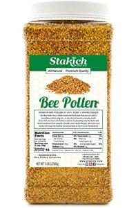 Stakich Bee Pollen Granules, best bee pollen supplements
