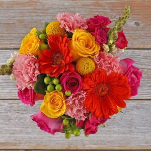 sugar rush flower bouquet, flower delivery services