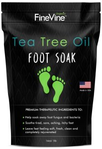 tea tree oil foot soak, benefits of tea tree oil