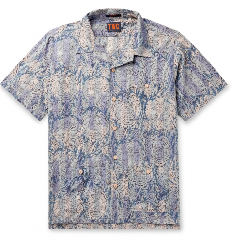 The Workers Club Camp-Collar Shirt