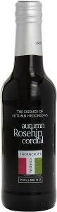 Thorncroft Autumn Rosehip Cordial, best cordials
