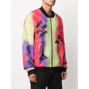 Mauna Kea Tie-Dye Bomber Jacket