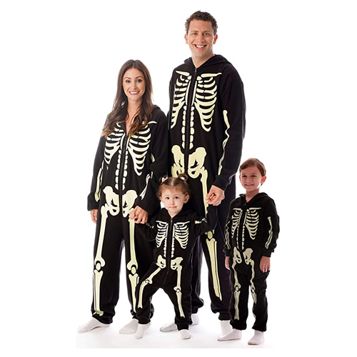 halloween costume ideas followme glow in the dark skeleton