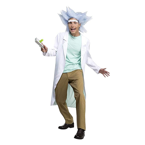 halloween costume ideas rick and morty deluxe rick