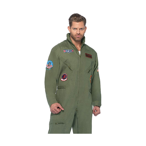 halloween costume ideas leg avenue top gun flight suit