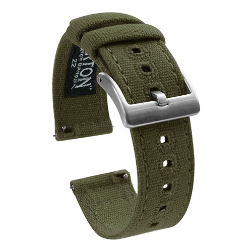 canvas watch band