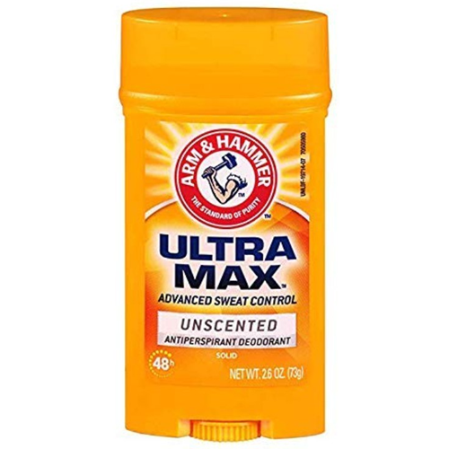 Arm & Hammer ultramax antiperspirant deodorant unscented