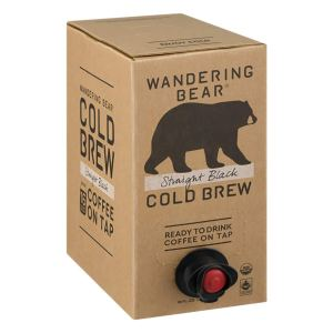 best cold brew coffee wandering bear organic