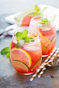 watermelon mojito, how to make a watermelon keg