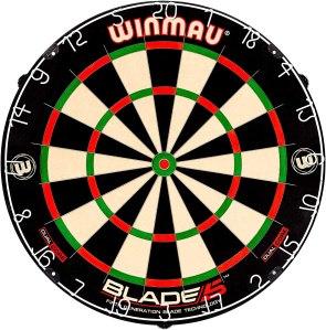 best dart board winmau blade 5
