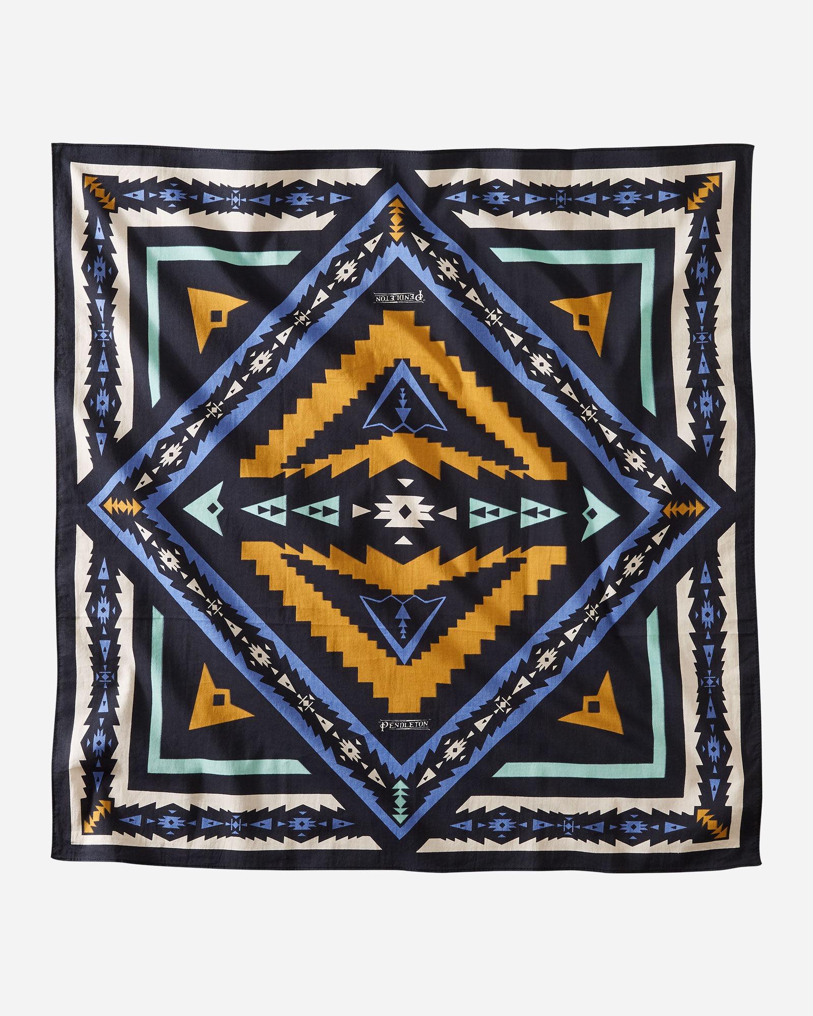 jumbo bandana with aztec style design
