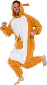 Kangaroo One Piece Onesie Halloween Costume