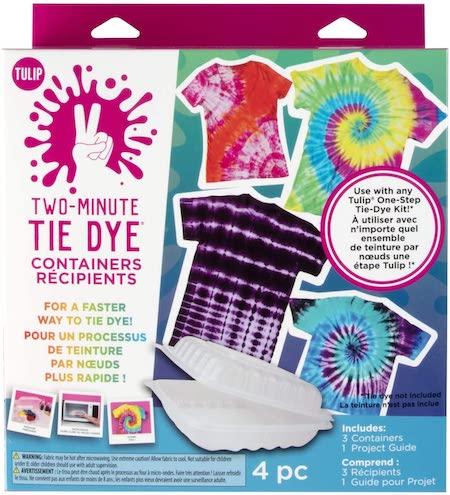 one step two minute tie dye kit