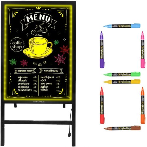 LED message writing board