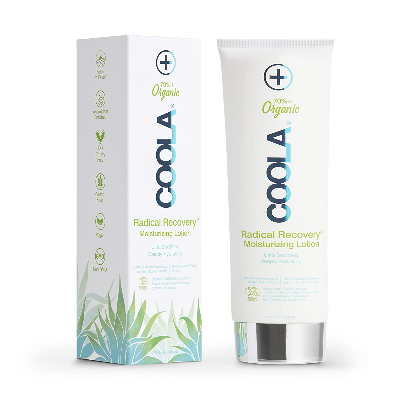 oola Organic Radical Recovery After Sun Body Lotion