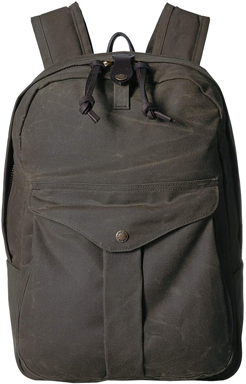 best work bags for men - filson gray backpack